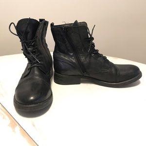 ALDO leather moto boots